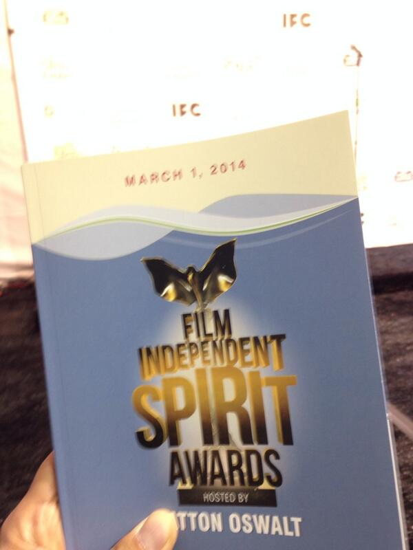 Otra exclusiva: Spirit Awards