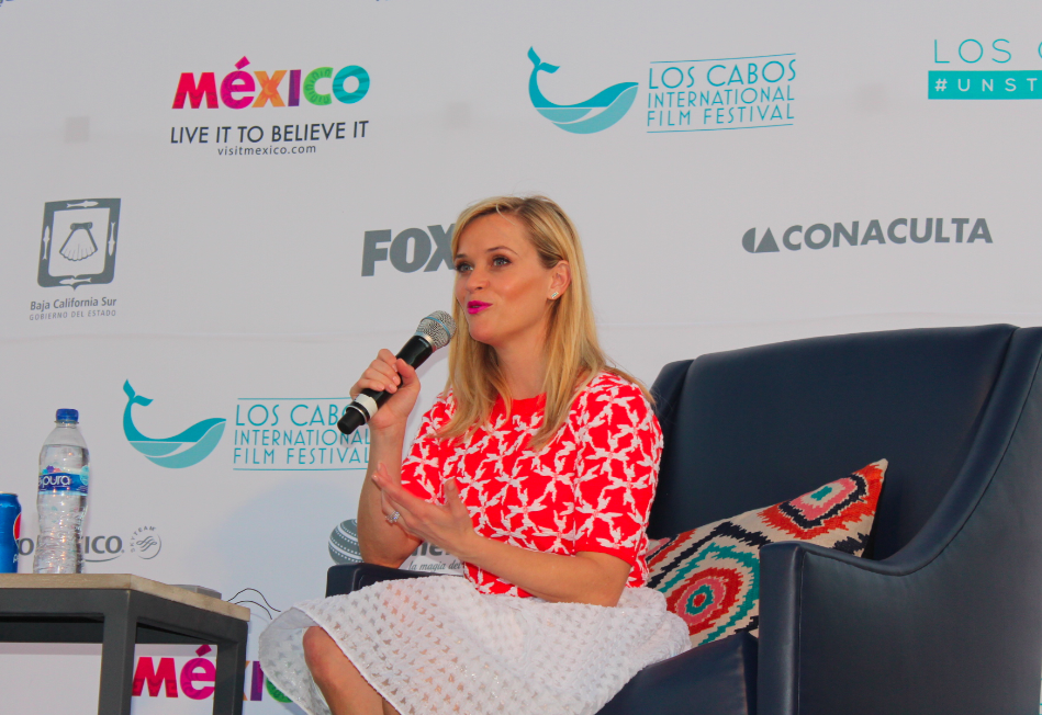 Reese Whiterspoon inaugura Los Cabos Film Fest