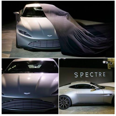 El auto de James Bond Spectre
