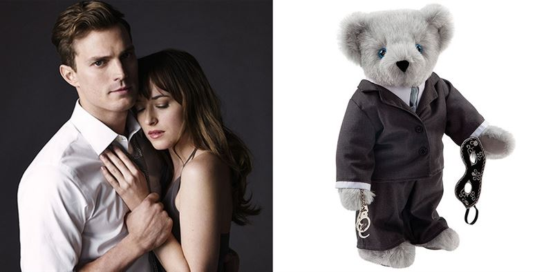 El regalo ideal... Oso de peluche,  de 50 sombras de Grey