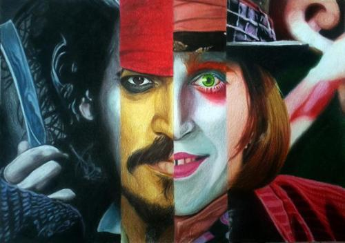 Johnny Depp Leyenda de Disney