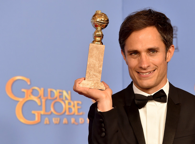 Gael García ganó un Globo de Oro por su trabajo en ' Mozart in the Jungle'