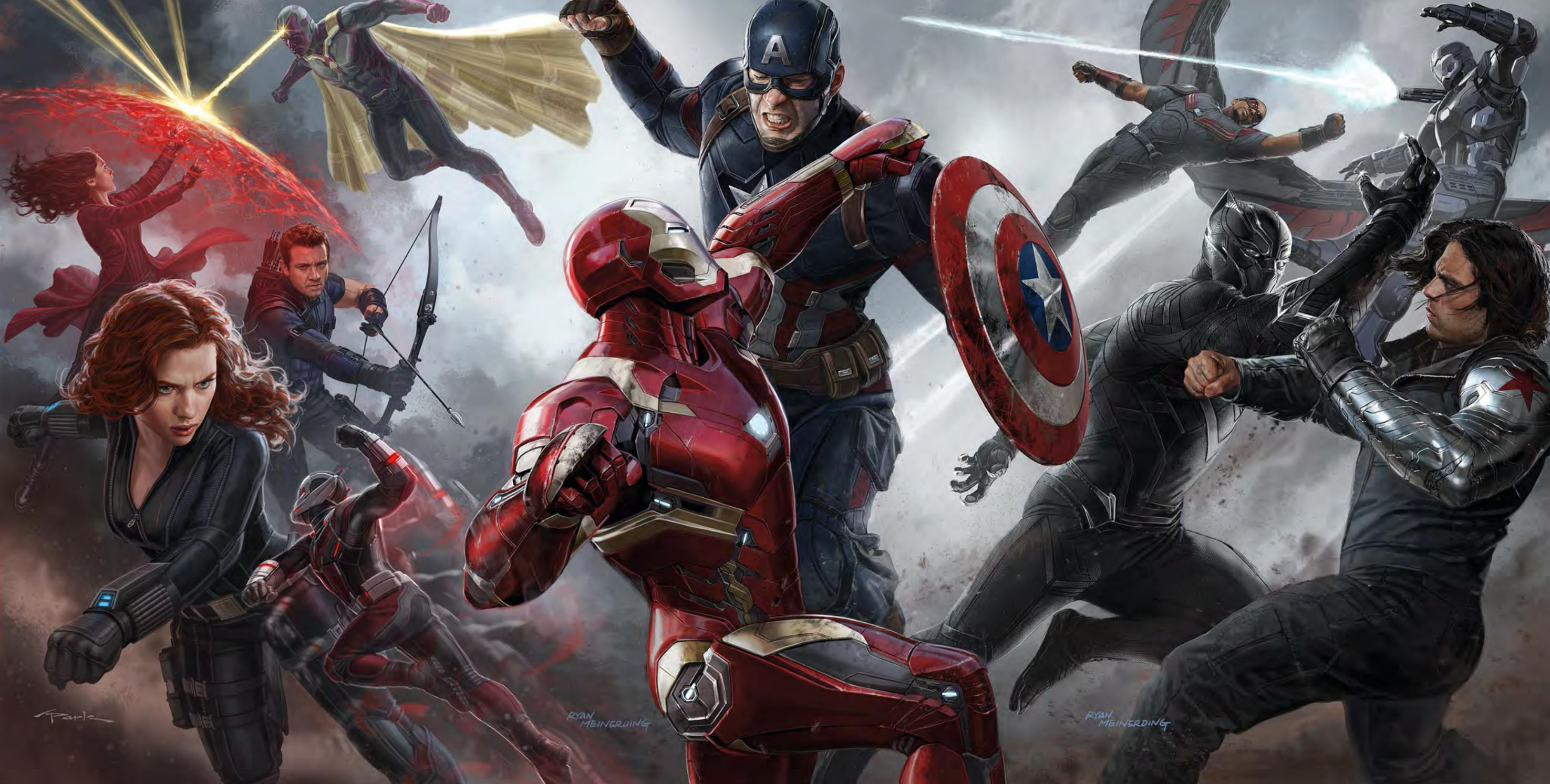 Todo sobre las armas de 'Captain America: Civil War'