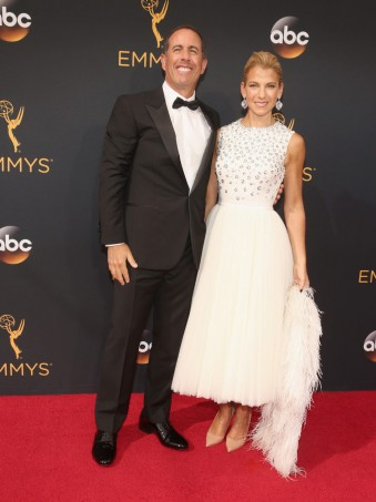Jerry Seinfeld y Jessica Seinfeld