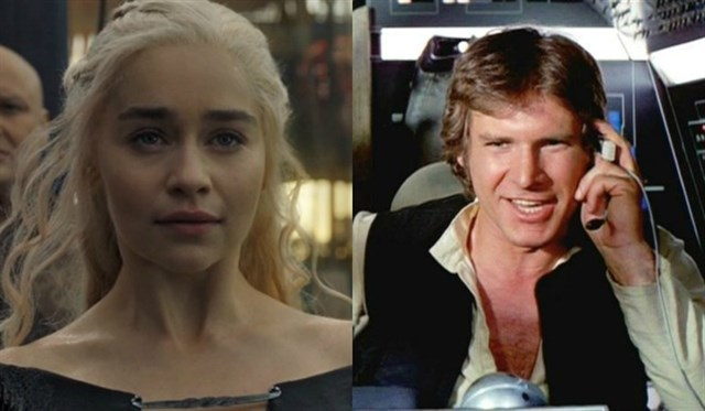 Emilia Clarke de 'Game of Thrones' a 'Star wars'