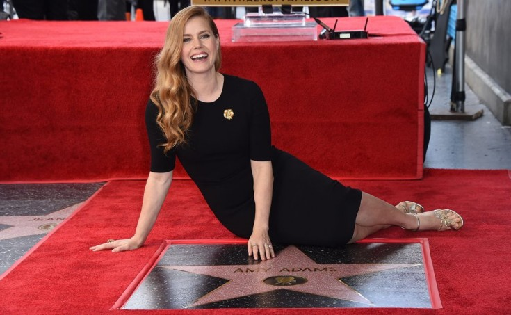Amy Adams recibe su estrella en Hollywood