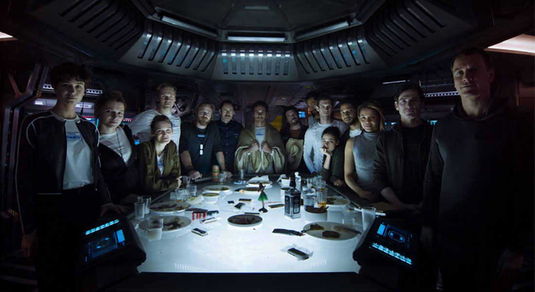 Revelan al elenco de Alien: Covenant