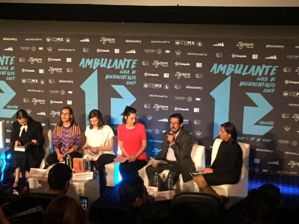 Ambulante, Conferencia de prensa