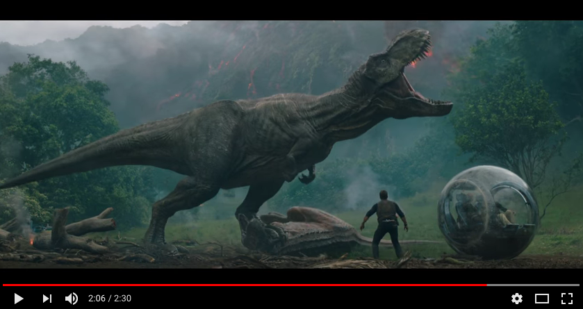 Nuevo trailer de Jurassic World: Fallen Kingdom