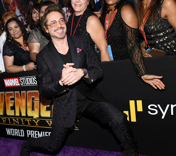 Premiere de Avengers: Infinity War en Hollywood
