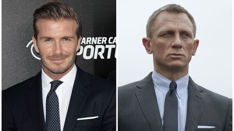 David Beckham… ¿James Bond?