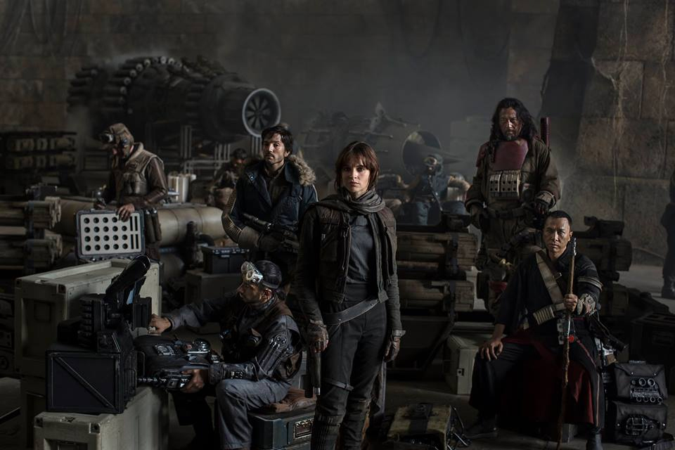 Diego Luna en 'Star Wars: Rogue One'