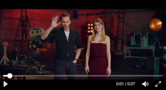 Es oficial… Tom Hiddleston México y Brie Larson estarán en México!!!