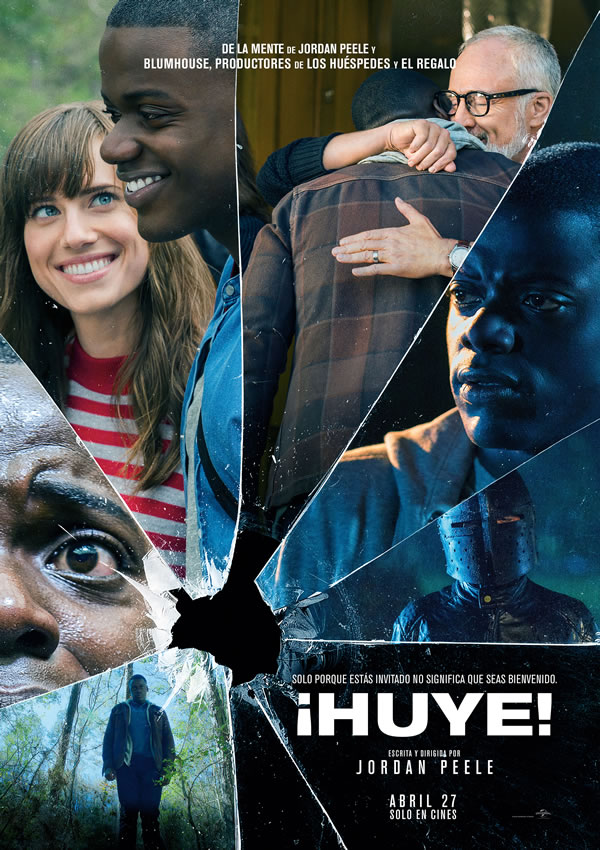 Reseña Get out! / ¡Huye!