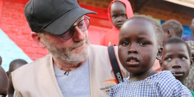 Liam Cunningham, actor en «Game Of Thrones», colabora contra el hambre en Sudán