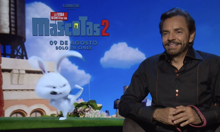 Eugenio Derbez es «Snowball» en La Vida Secreta de Tus Mascotas 2
