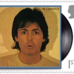 McCartney inmortalizado en sellos postales